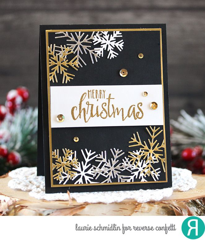 Reverse Confetti Christmas cards Cards
