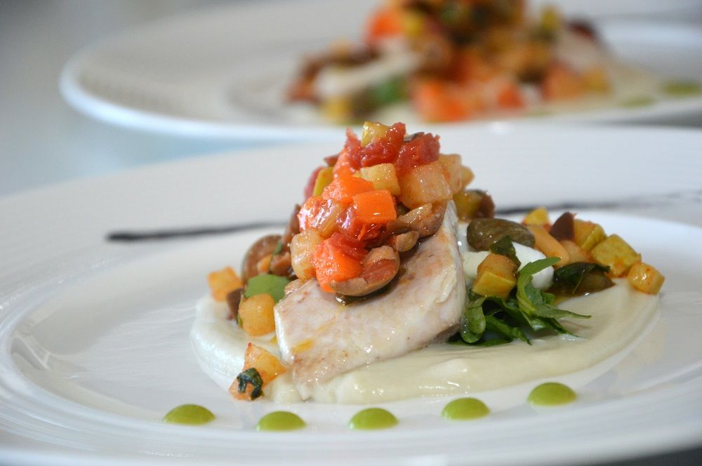 Photo of Fish fillets with vegetable caponata – The galant cook …