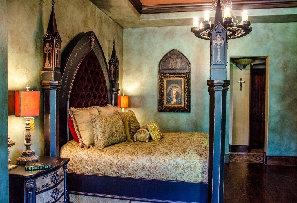 Small Gothic Bedroom Design 1024x702 Small Gothic Bedroom Design 1024x702 Dream Home Pinterest