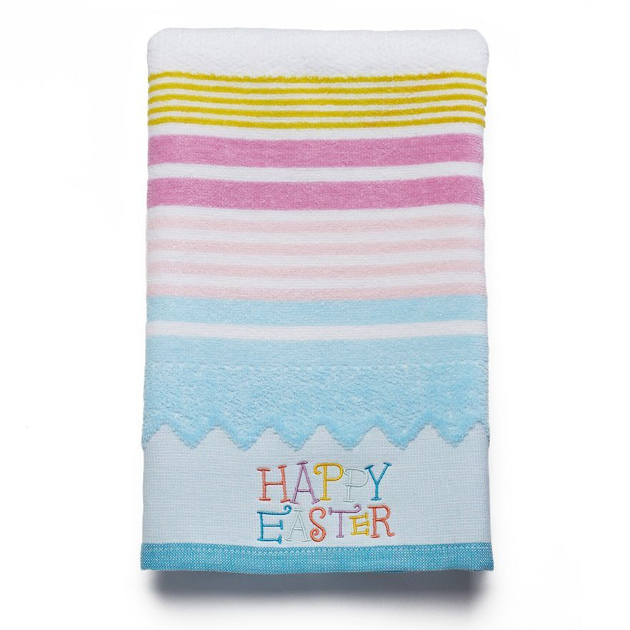 Celebrate Together Happy Easter Hand Towel Hand Towels Towel