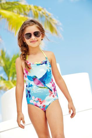 757382baa46af Buy Hummingbird Swimsuit (3-16yrs) from the Next UK online shop ...