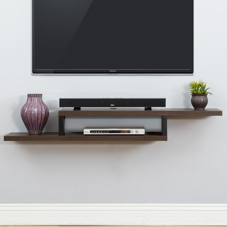 13 inspirational diy tv stand ideas for your room home wall mount rh pinterest com