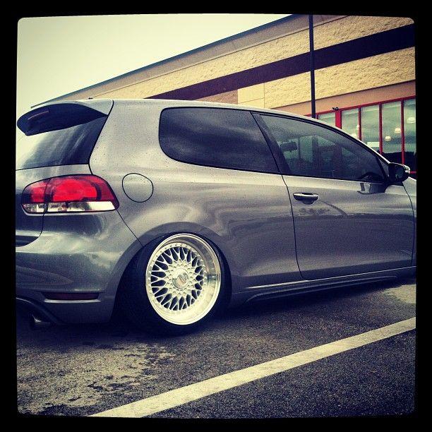 17x8 17x9 Privat Akzent wheels on mk6 gti, slammed!  http://www.konigwheels.com/Privat-Home/2013-privat-wheels/REMEMBER-SILVER_2  Instagram photo by @ug_mk6 (Anthony Savino)   Statigram
