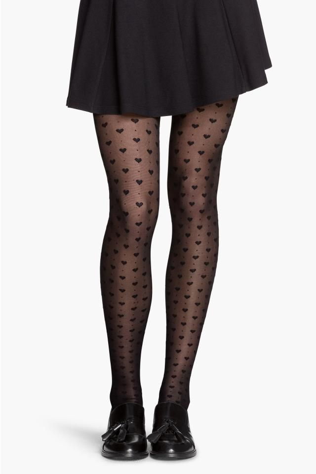 H&M Patterned Tights