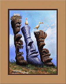 """""""Tres Hombres""""  art print by Trey Surtees"""