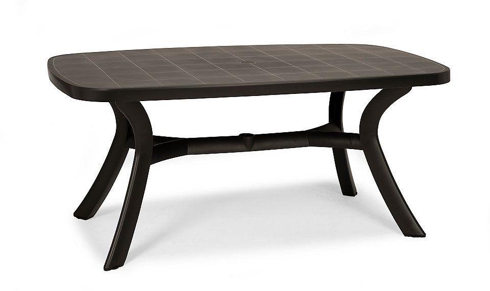 BEST Gartentisch »Kansas«, Kunststoff, 192x105 cm, anthrazit Jetzt ...