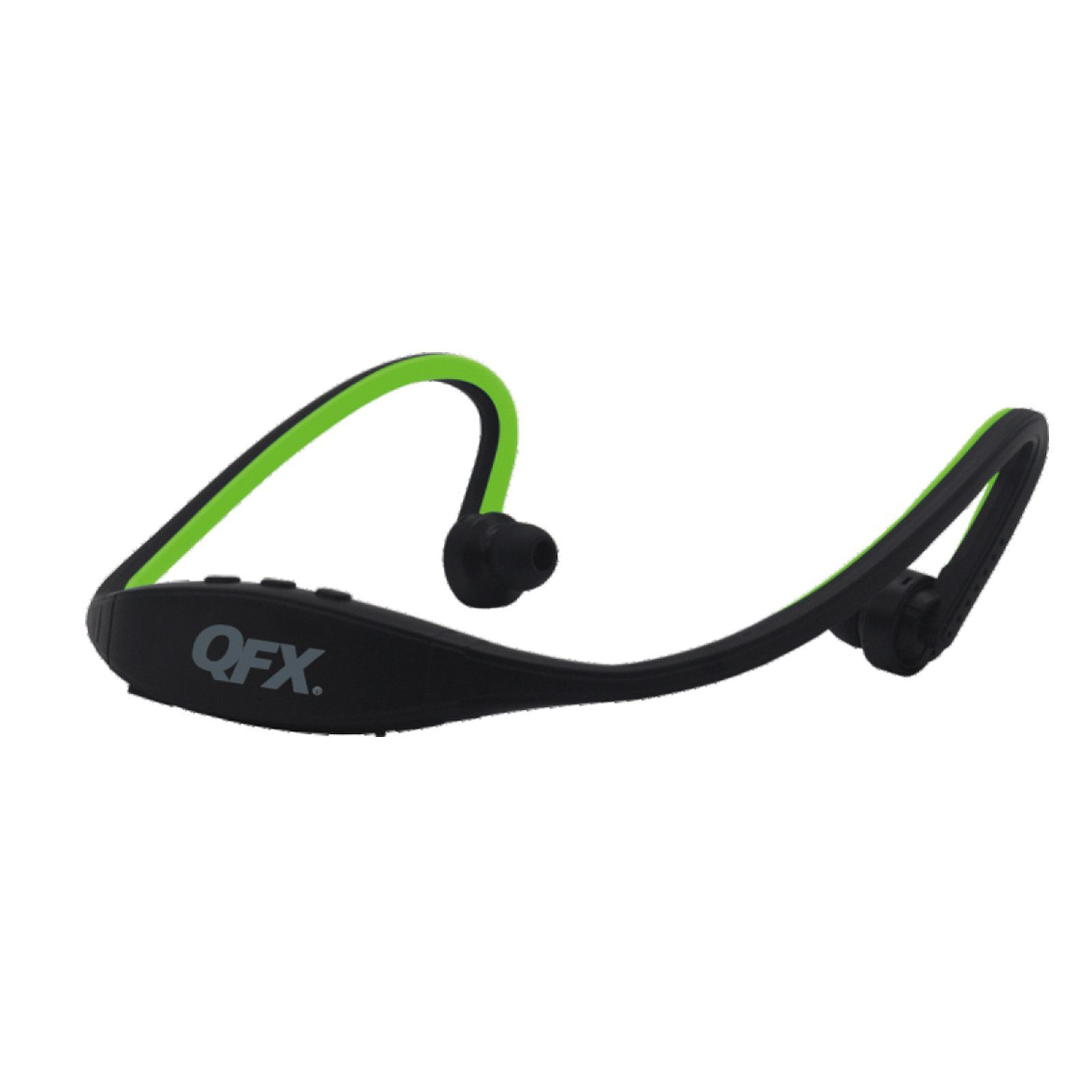 Qfx Sport Bluetooth Headphones With Microphone Green Products Headset