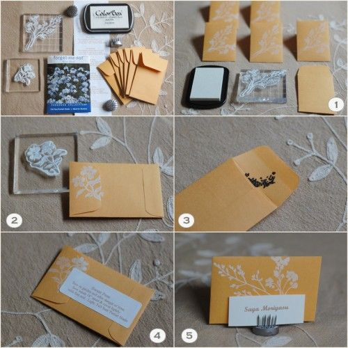 DIY Seed Packet And Pin Frog Favors
