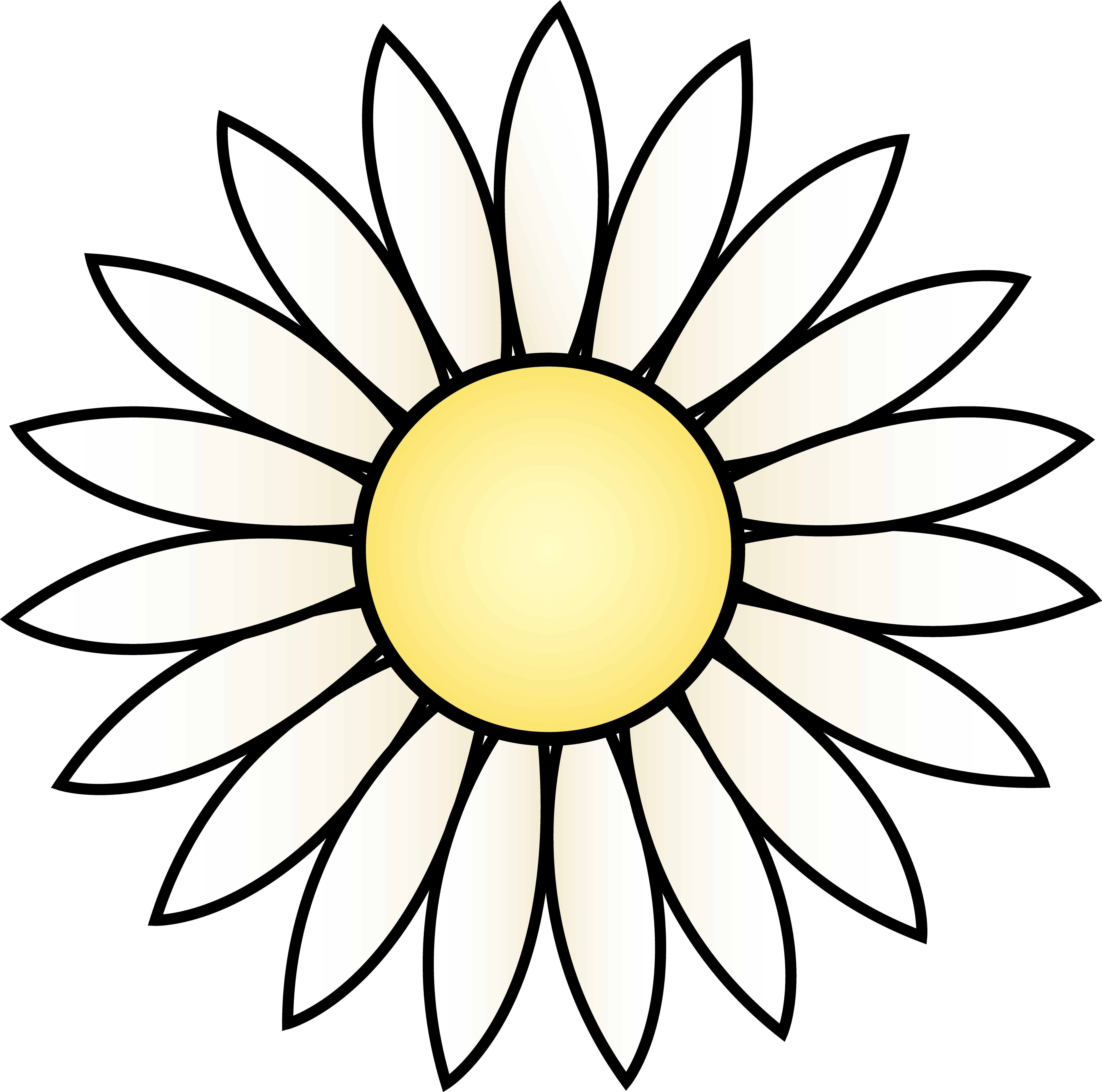 white daisy flower clip art depolama pinterest clip art rh pinterest co uk clip art daisies free clipart daily planners