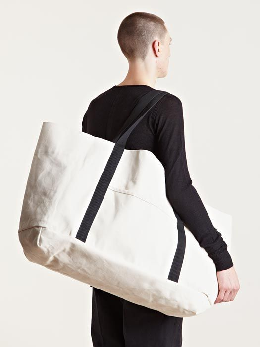 3bfbb6a11d86 Rick Owens DRKSHDW Men's Oversized Canvas Bag | inspiration for ...