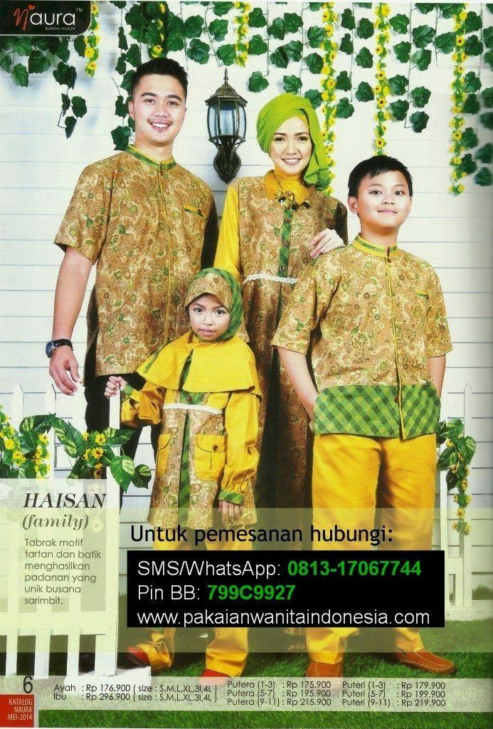 Baju Lebaran Keluarga Muslim | Cantik Berbaju Muslim