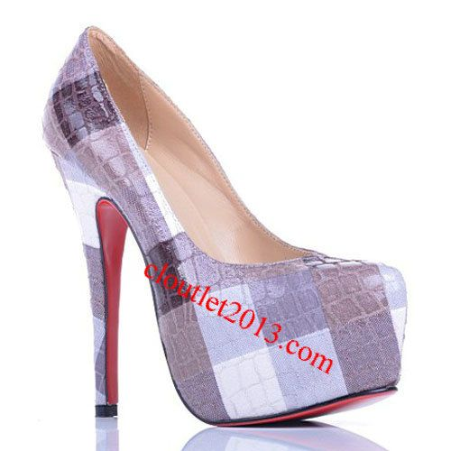 Discount Christian Louboutin Daffodil Assorted Colored Pumps Pur