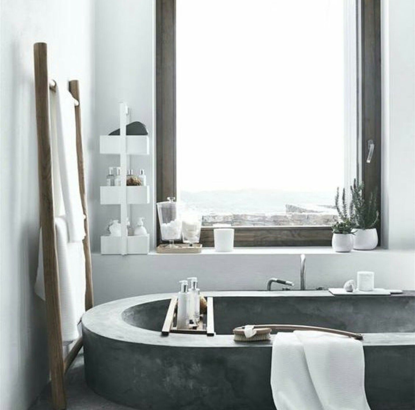 Own your morning bathroom interior