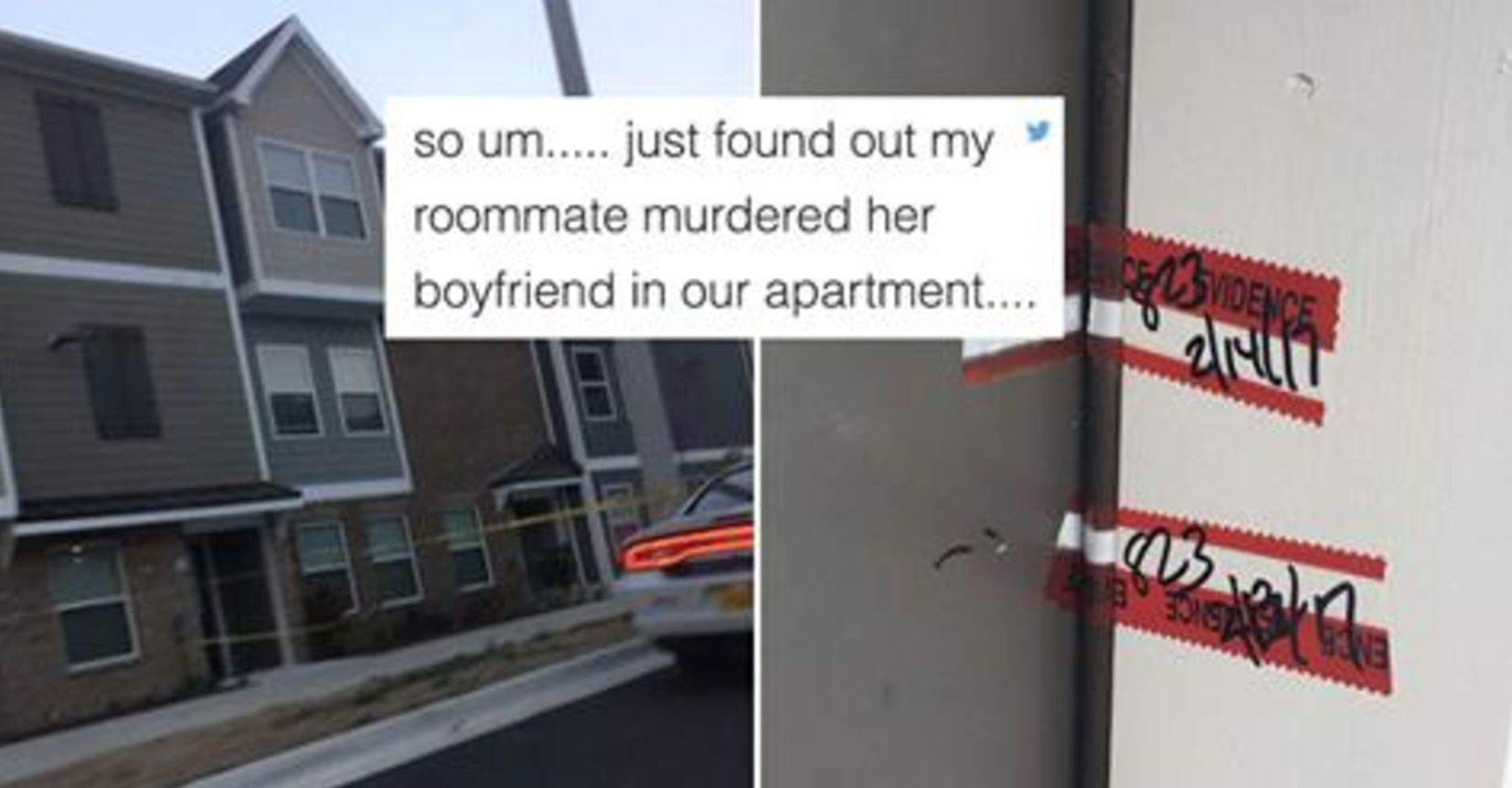 This Guy Found Out His Roommate Murdered Someone In Their Apartment And Live Tweeted The