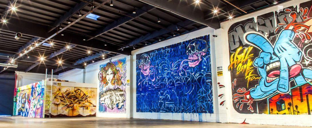 Urban Street Art Venue In The Heart Of