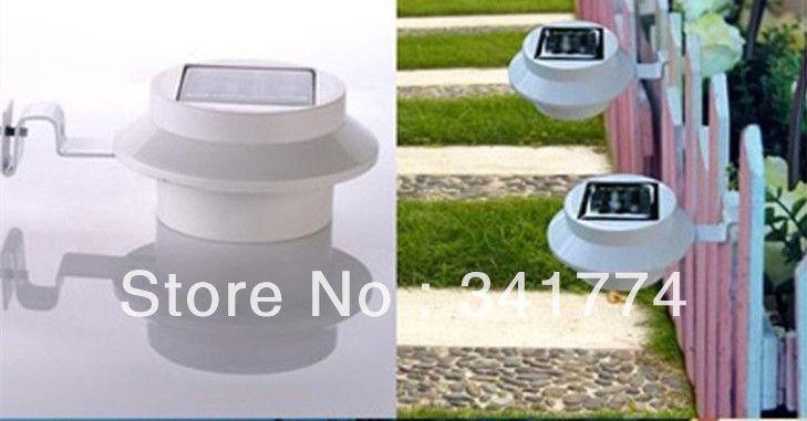 Luz De LED Solar Panel Wand Waschbecken Zaun Lampen Hyundai Solaris Outdoor Solar Wandleuchte Garten Schritt Pfad Porch Gutter Lichter