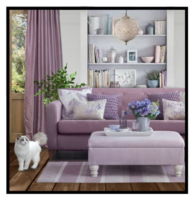 """""""Lavender Living"""" By Fortheloveofvintage Liked On Polyvore"""