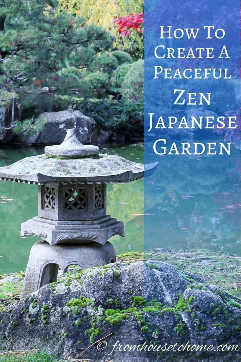 how to create a peaceful zen japanese garden backyard landscaping rh pinterest com