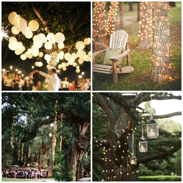 Beleuchtung draussen(Diy Garden Party) | this is it | Pinterest ...