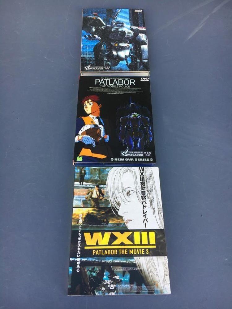 Anime japanese originalpatlabor the mobile police the