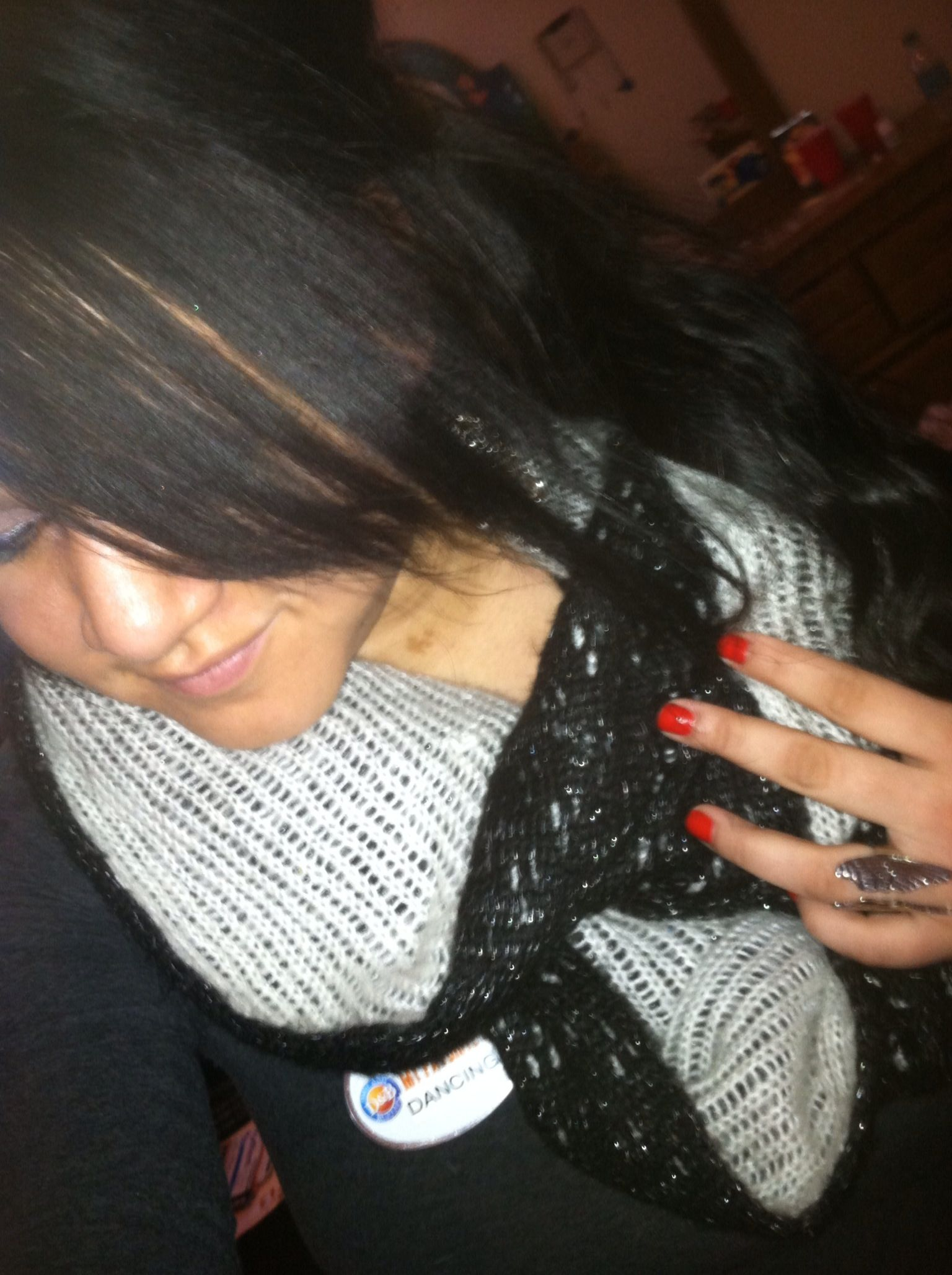 ring and infinity scarf <3