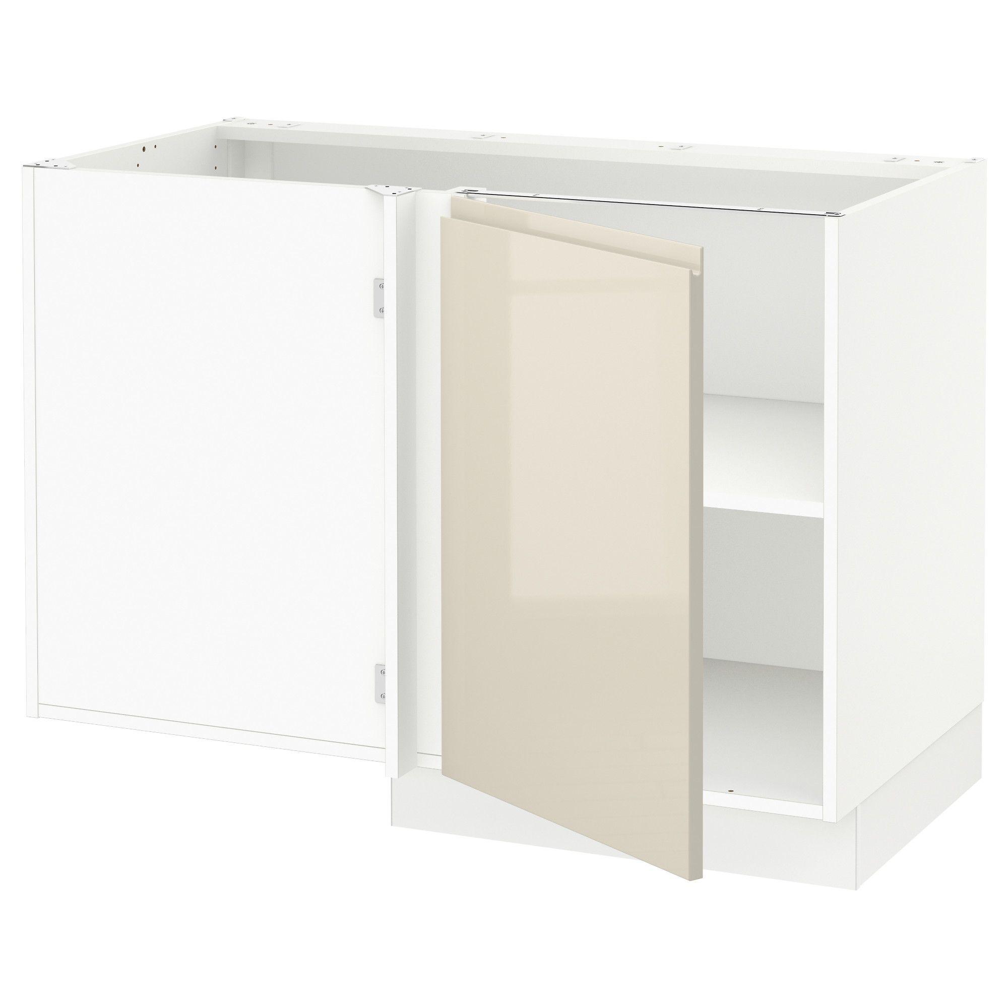 ikea sektion white corner base cabinet with shelf frame colour in rh pinterest com