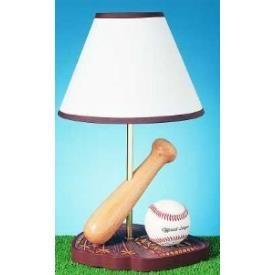 Cal Lighting Bo 374 One Light Baseball Table Lamp Boys Room 46 32 On Special
