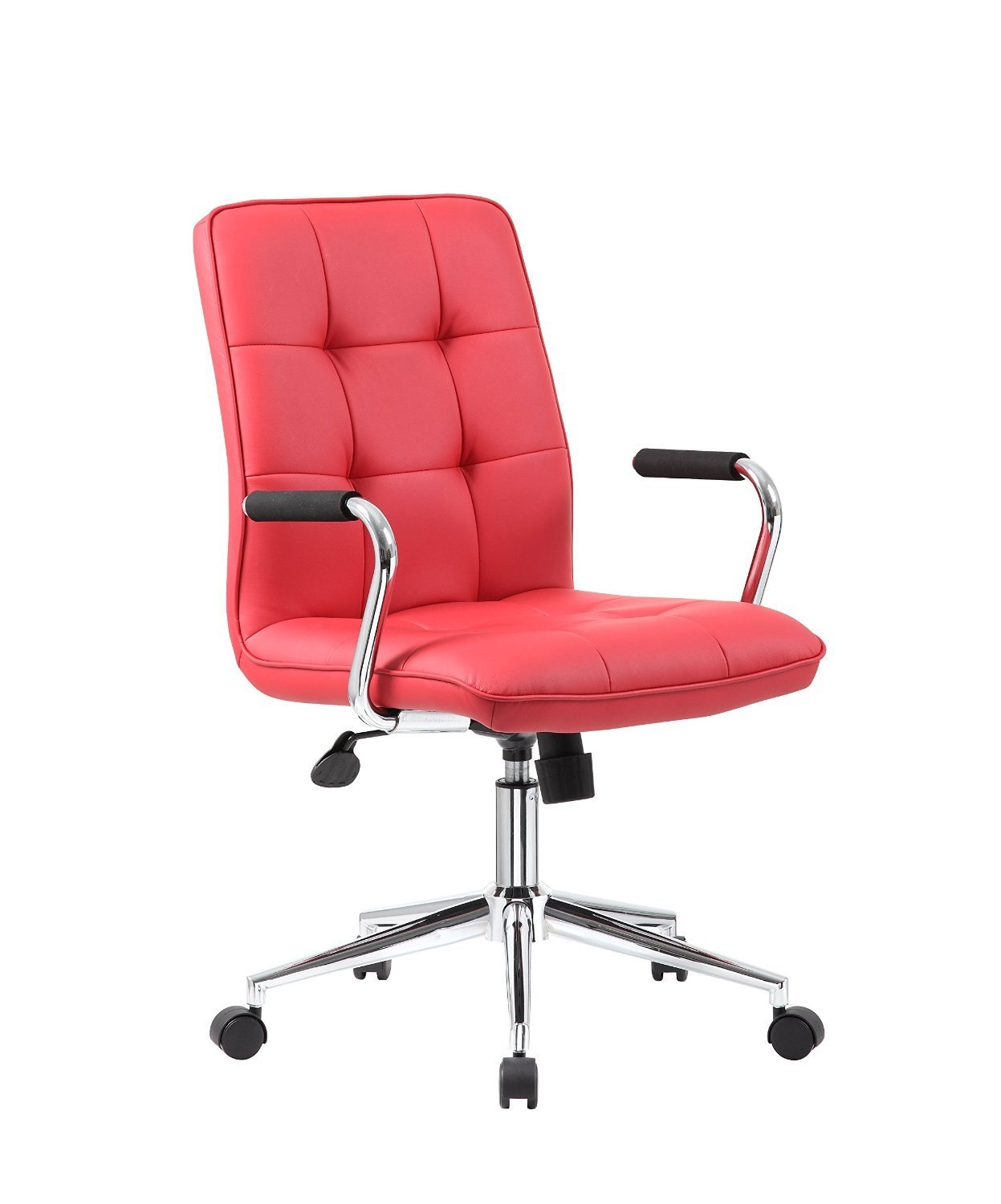 Boss Office Products B331 Rd Modern Office Chair W Chrome Arms