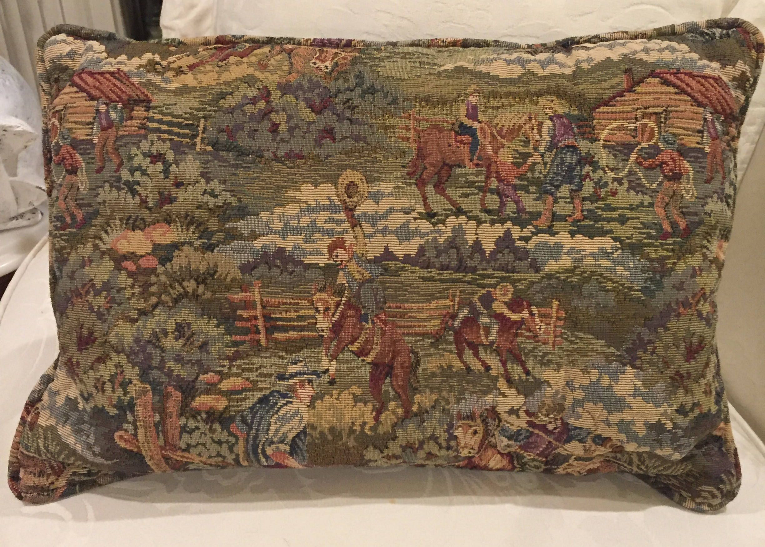 6eb8886f0f51b Western Tapestry Pillow