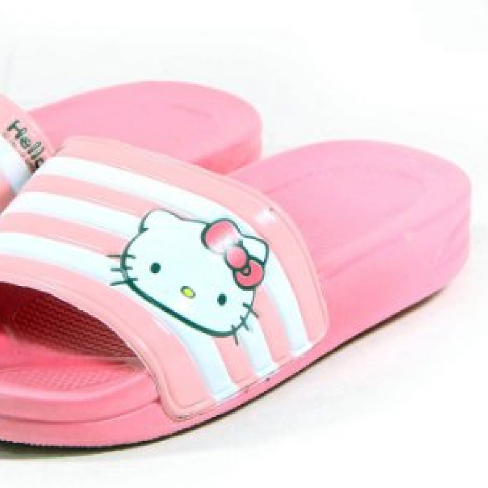 2b26ae277 Hello Kitty LALA Lovely Womens Summer Slippers Shoes Beach Pool Pink US  size 6 //