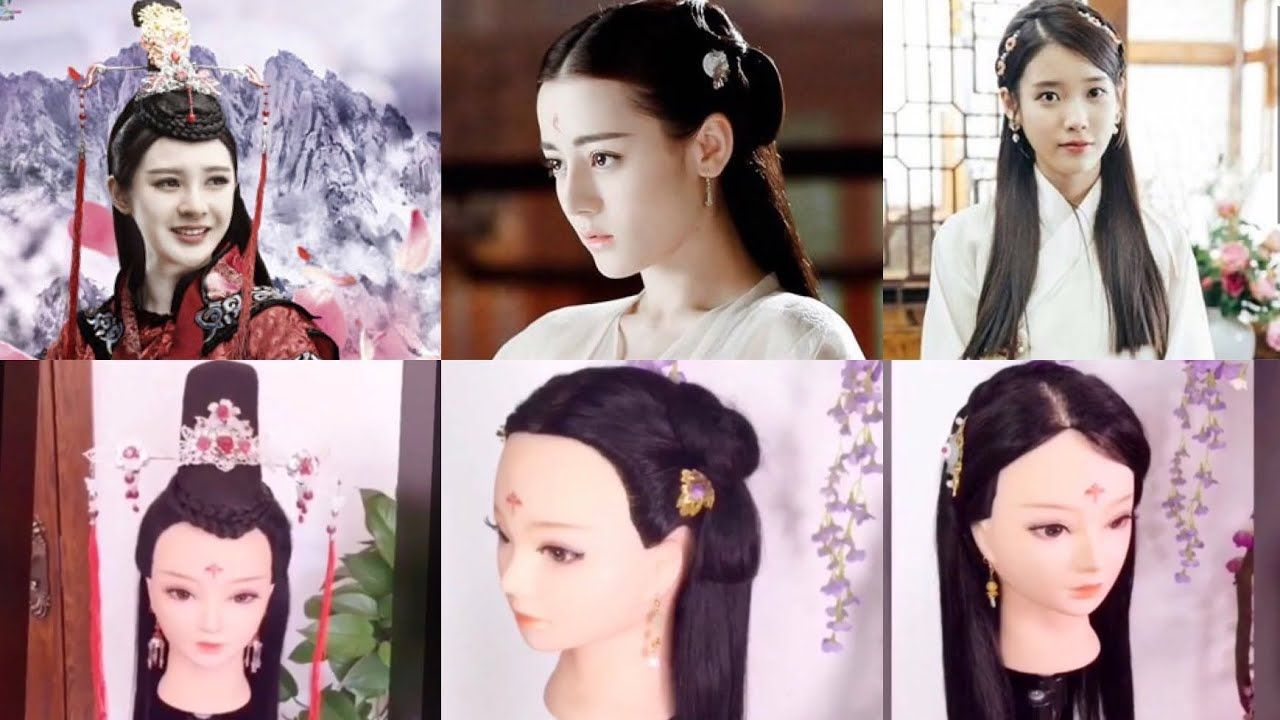 Amazing Chinese Drama Old Traditional Hairstyles Tutorial Look So Beauti Traditional Hairstyle Hair Tutorial Hair Styles