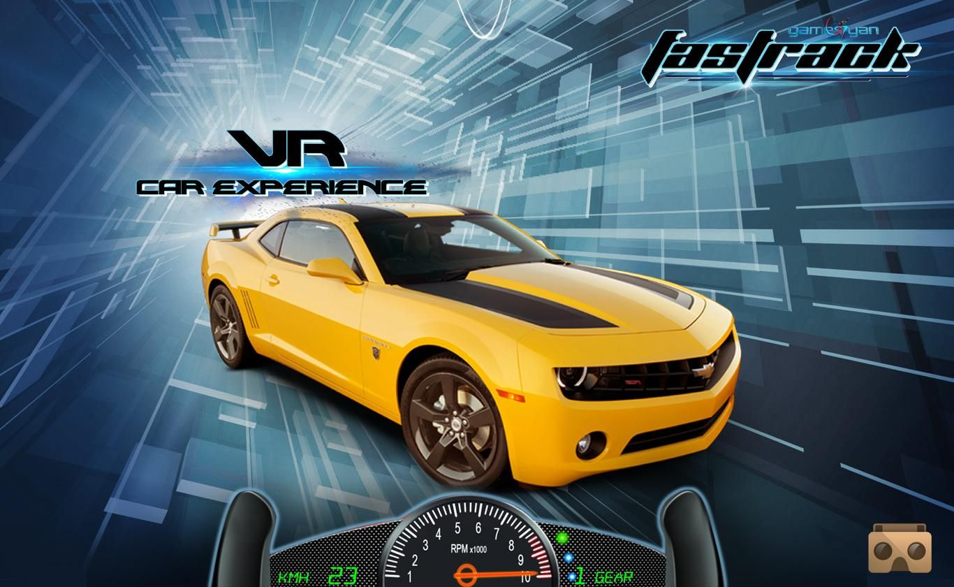 FasTrack VRGame Features The most popular sport car