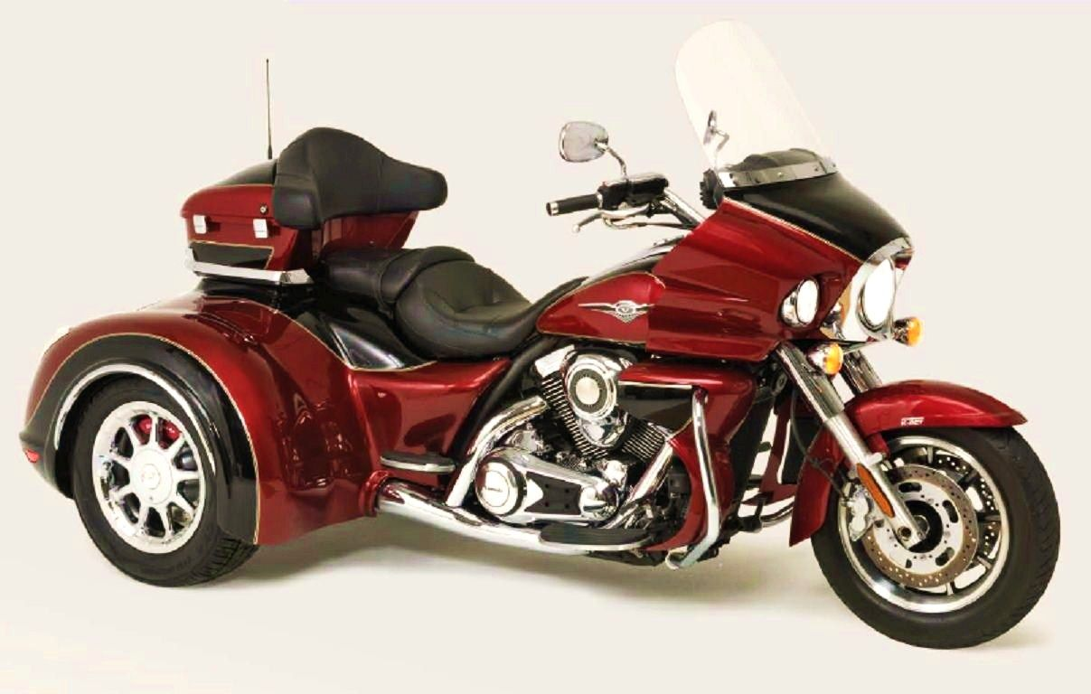 California Sidecar's Kawasaki Kruze (Voyager/Nomad) http