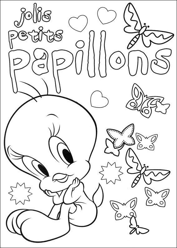 Dibujos para Colorear Silvestre y Piolin 37 | Dibujos para colorear ...