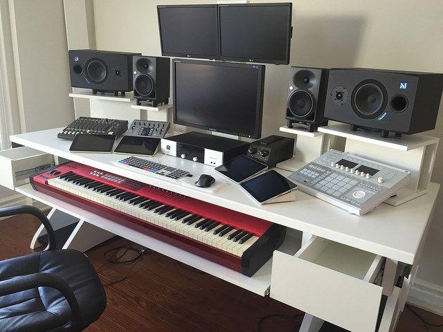 the diy dream audio production and recording studio audio studio and music studios. Black Bedroom Furniture Sets. Home Design Ideas