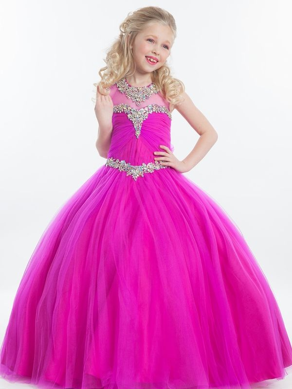 Perfect Angels Little Girl Pageant Ballgown 1607|PageantDesigns.com ...