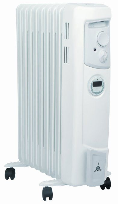 Dimplex 2 Kw Electric Oil Filled Radiator With Timer Oil Filled Radiator Column Radiators Radiators