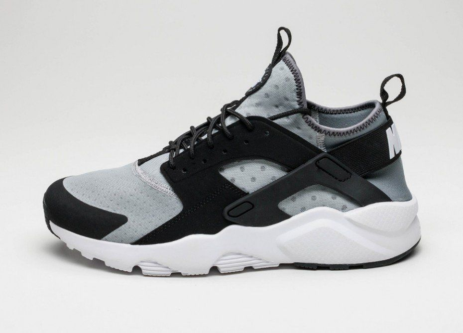 nike air huarache wolf grey black
