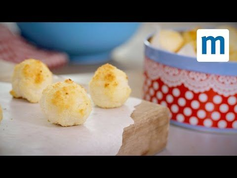 Easy coconut macaroons recipe | Mumsnet This simple recipe is almost too easy - just chuck all three ingredients into a bowl, mix, and bake for a batch of tasty, bite-sized treats in a flash. You're welcome.