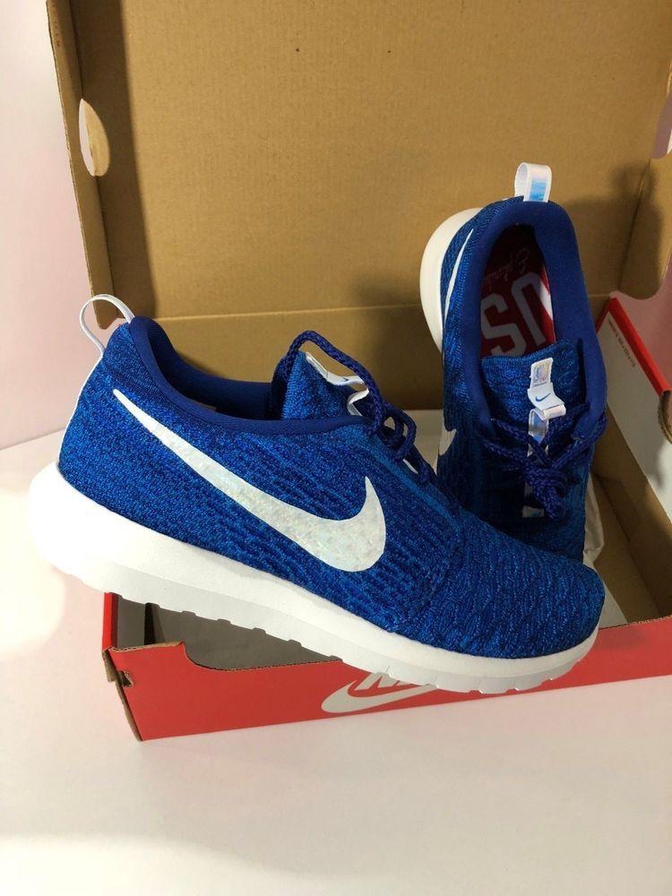 Nike Roshe Run Flyknit Womens Sz 10 Limited Team USA edition