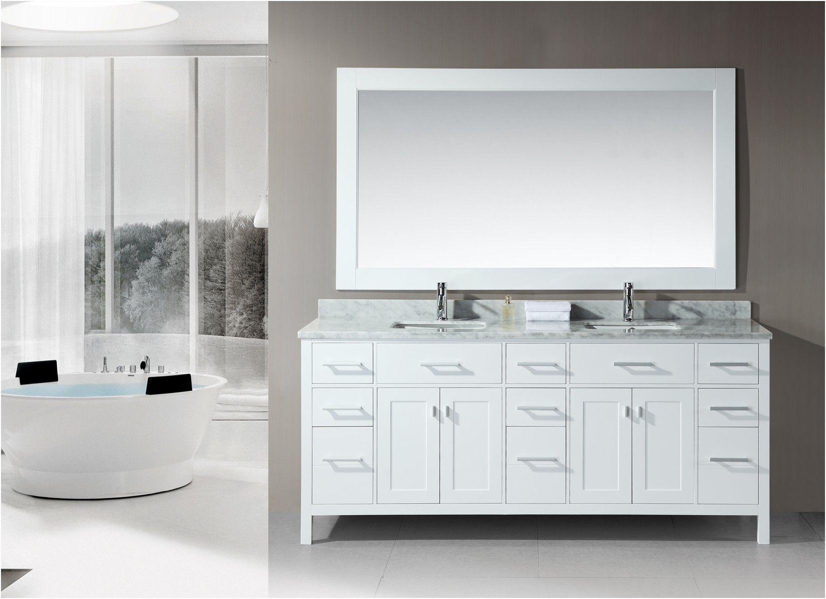 white double sink bathroom vanity stufurhome 60