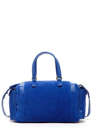 Zenith Handbags Mixed Media Satchel Bag by Sondra Roberts Handbags & More on @HauteLook