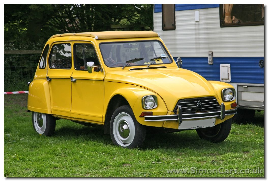 Citroen Dyane, model year 1979, bought in the spring of 1986. My ...