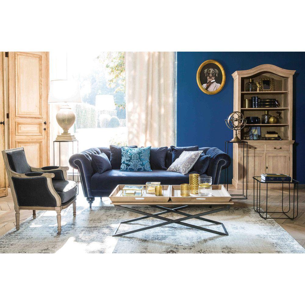 Furniture ideas Sof capiton de 3 plazas