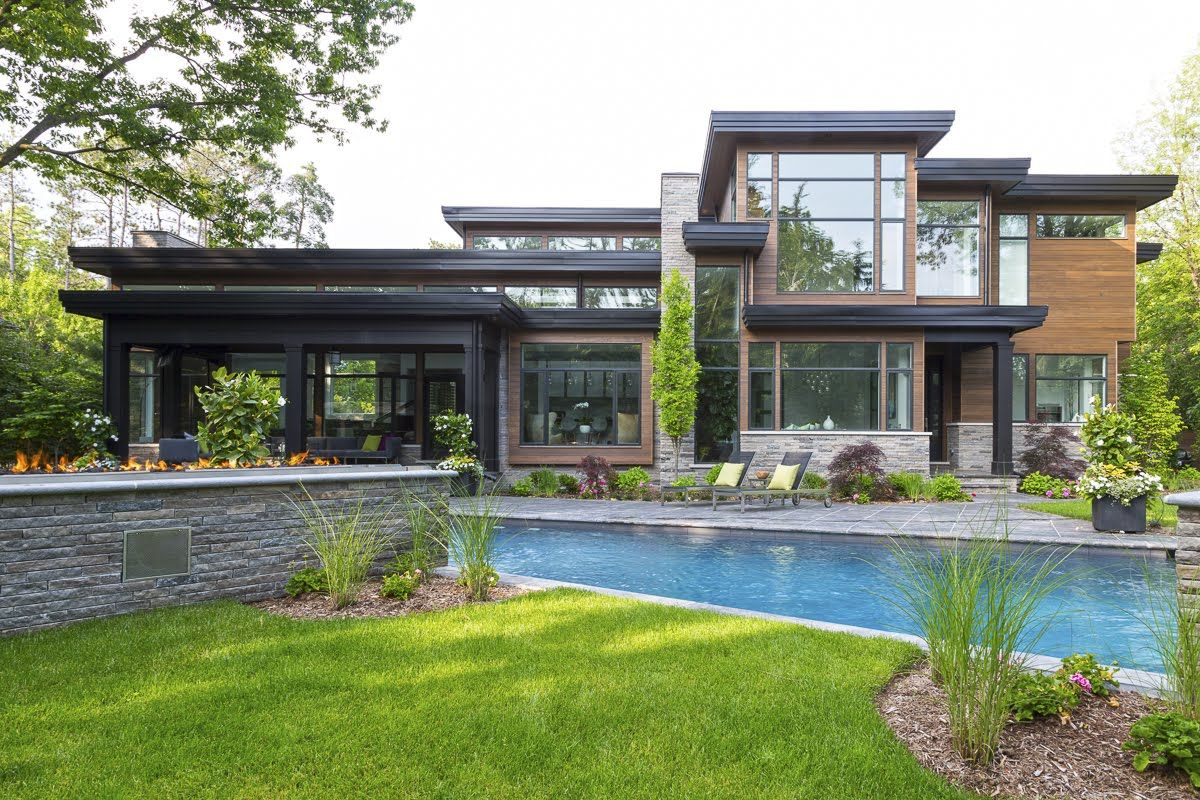Bachly Construction | Elegant Contemporary Single Family Home ...