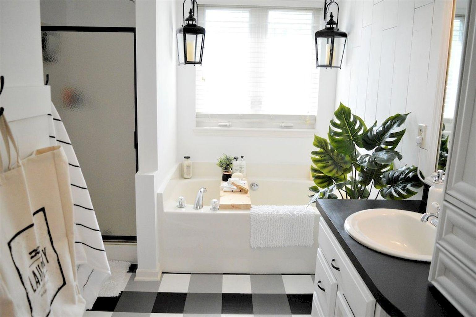 Cool Best 25 Farmhouse Master Bathroom Decor