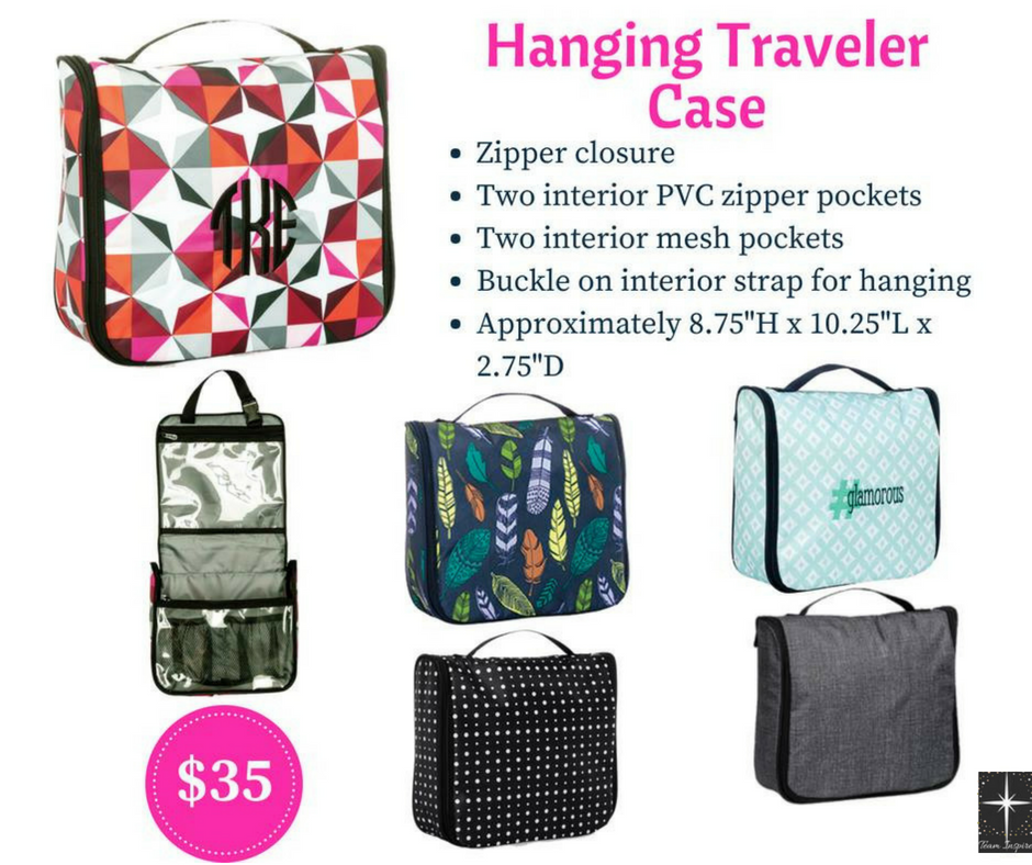 52b79f59c3 Hanging Traveler Case by Thirty-One Fall 2018. An easy way to transport  your toiletries!  thirtyone  thirty-one  31  hanging  traveler  case   travel  trip ...