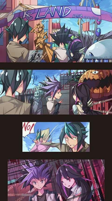 Journee A Kaiba Land Direction La Maison Hantee Shun Ils Vont La Dedans Viens Kaito Kaito Nooon Yugioh Monsters Anime Yugioh