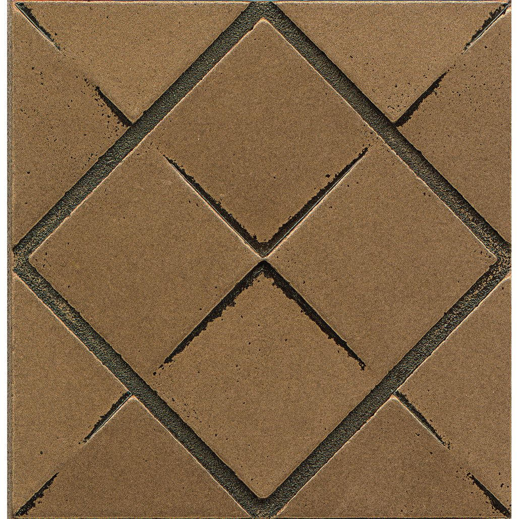 Bedrosians Matterix City Bronze Metal and Resin 4-inch x 4-inch Tile ...