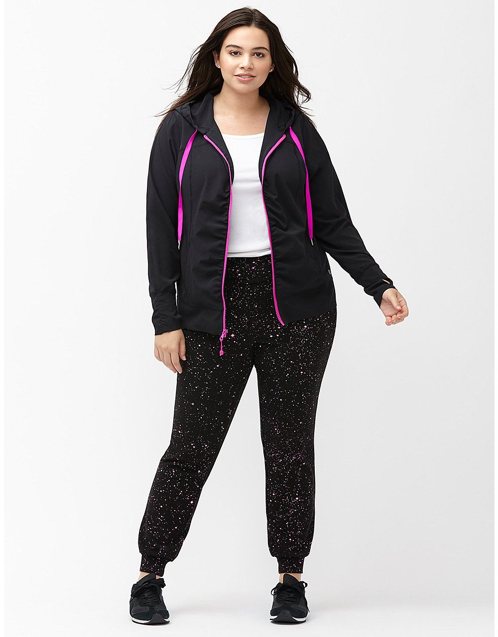 fff64ca73ba01 Performance Stretch ruched active jacket by Livi Active